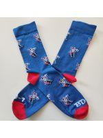 Ponožky Xzone Originals - Droid BD-1 (veľkosť 42/46) (HRY)