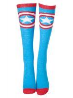 Ponožky dámske Marvel - Captain America Shield (podkolienky) (TRIKO)