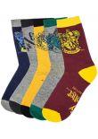 Ponožky Harry Potter (5 párů)