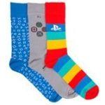 Hračka Ponožky PlayStation (3 páry)