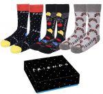 Ponožky Friends - Sada (3 páry, 35/41) (HRY)