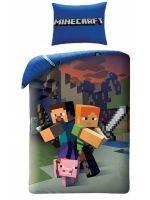 Obliečky Minecraft - Heroes (HRY)
