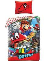 Obliečky Super Mario - Super Mario Odyssey (HRY)