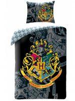 Obliečky Harry Potter - Hogwarts (čierne) (HRY)