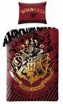 Povlečení Harry Potter - Hogwarts (červené)