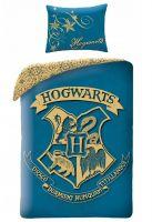 Obliečky Harry Potter - Hogwarts (modré) (HRY)