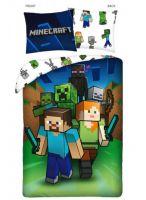 Obliečky Minecraft - Characters (HRY)