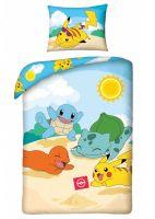 Obliečky Pokémon - Starters Beach (HRY)