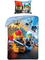 Obliečky Lego - Lego City (HRY)