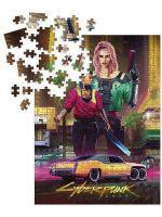 Stolová hra Puzzle Cyberpunk 2077 - Kitsch