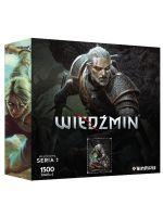 Puzzle Zaklínač - Geralt (Hrdinovia Zaklínača) S1 (STHRY)