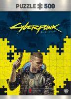 Hračka Puzzle Cyberpunk 2077 - Keyart Male V (Good Loot)