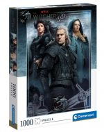 Hračka Puzzle Zaklínač - Ciri, Yennefer a Geralt (Netflix)