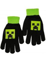 Rukavice detské Minecraft - Creeper
