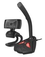 Herní příslušenství Sada pro streamování Trust GXT 786 Reyno (webkamera + mikrofon)