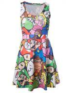 Herné tričko Šaty Nintendo - Mario (veľkosť M)