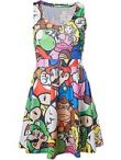 oblečení pro hráče Šaty Nintendo - Mario (velikost XL)