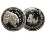 Hračka Sběratelská mince Alien - 40th Anniversary