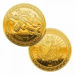 Hračka Sběratelská mince Monster Hunter - Gold Edition