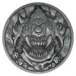 Hračka Sběratelský medailon Doom - Cacodemon