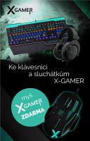 Set X-Gamer - klávesnica + myš + headset (HW)
