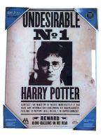 Hračka Skleněný plakát Harry Potter - Undesirable No. 1