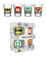 Poháriky DC Comics - Logos (HRY)