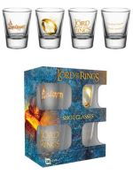 Hračka Skleničky The Lord of the Rings (set 4 ks panáků)