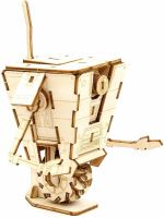 Stavebnica Borderlands - Clap Trap (drevená) (HRY)
