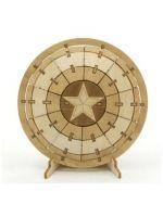 Stavebnica Marvel - Štít Kapitána Ameriky (drevená)