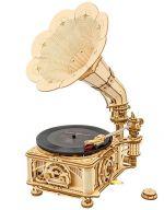 Stavebnica - Gramofon (drevená) (HRY)