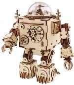 Hračka Stavebnice - Hrací skříňka robot Orpheus (dřevěná)