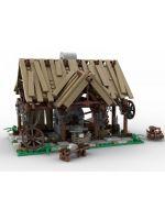 Hračka Stavebnice Kingdom Come: Deliverance - Martinova kovárna (BlueBrixx)