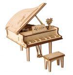 Stavebnica - Krídlový klavír (drevená) (HRY)