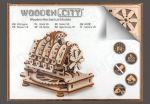 Stavebnica - Motor V8 (drevená) (HRY)