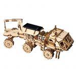 Hračka Stavebnice - solární vozítko Navitas Rover LS504 (dřevěná)