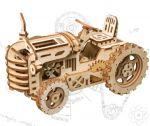 Hračka Stavebnice - Traktor (dřevěná)