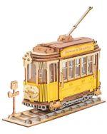 Stavebnica - Tramvaj (drevená) (HRY)