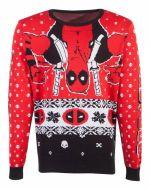 Sveter Deadpool - Holiday Deadpool (veľkosť XXL) (TRIKO)