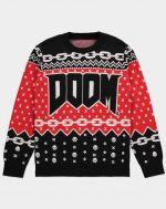 Sveter Doom - Logo (veľkosť