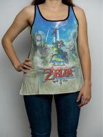 oblečení pro hráče Tílko dámské The Legend of Zelda: Skyward Sword - Sublimation (velikost XL)