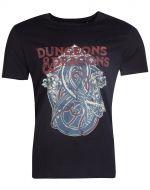 oblečení pro hráče Tričko - Dungeons & Dragons (velikost L)