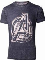 Tričko Avengers - Vintage Jack Kirby Logo (veľkosť XL) (TRIKO)