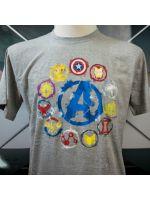oblečení pro hráče Tričko Avengers: Endgame - Icons (velikost L)