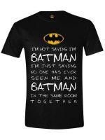 oblečení pro hráče Tričko Batman - Batman Mystery (velikost XXL)