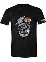 oblečení pro hráče Tričko Call of Duty: Black Ops 4 - Skull with Cammo (velikost XL)