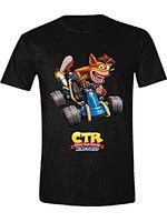 oblečení pro hráče Tričko Crash Team Racing - Crash Car (velikost L)