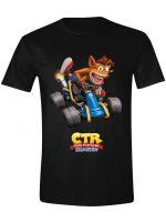 Tričko Crash Team Racing - Crash Car (veľkosť S) (TRIKO)