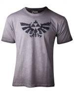 oblečení pro hráče Tričko dámské The Legend of Zelda - Silver Sequins (velikost L)