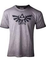 oblečení pro hráče Tričko dámské The Legend of Zelda - Silver Sequins (velikost XL)